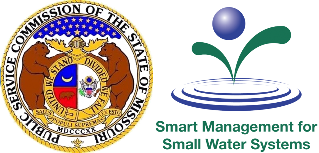 Missouri PSC and Smart Management for Small Water Systems dual logo