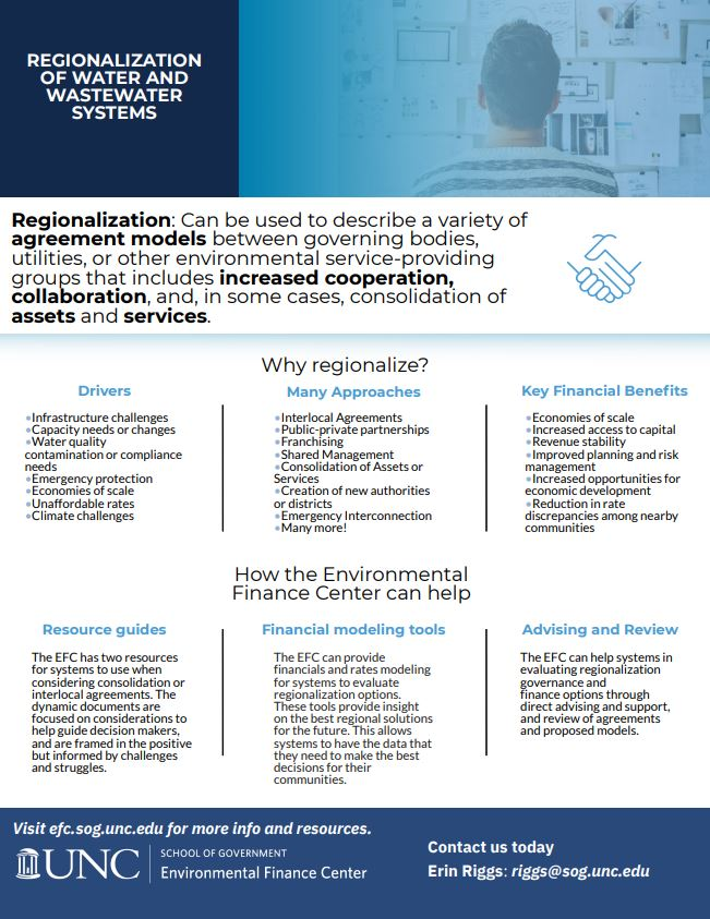 Screenshot of the Regionalization one-pager. Click the image to download the pdf.